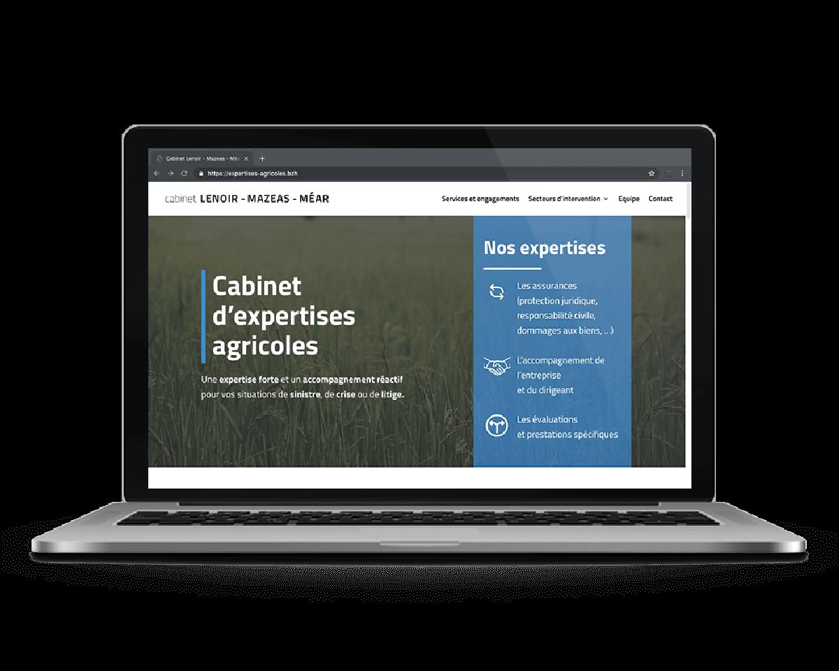 Creation-site-web-communication-digitale-landivisiau-bretagne-Cabinet-expertises-agricoles
