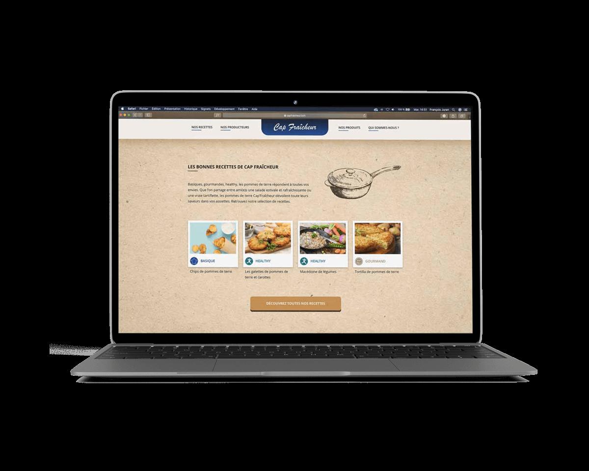 Creation-site-web-communication-digitale-landivisiau-bretagne-Cap-Fraicheur
