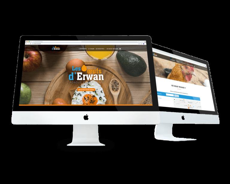 Creation-site-web-communication-digitale-landivisiau-bretagne-Oeufs-Erwan